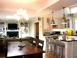 livingroom diningroom combo kitchen and living room small living room kitchen dining room combo