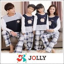 qoo10 family pyjamas big size and