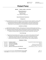 Sample Resume For Prep Cook by Line Cook Resume 2 Robert Perez