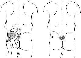 left abdominal left abdominal going to back