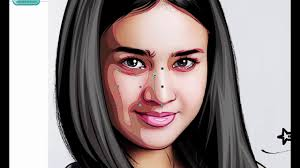 vector skin tone tutorial video how to make skintone on vector face by osa youtube