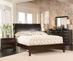 Full Size Platform Bedroom Sets Contemporary 4 Pc Phoenix Queen Platform Bedroom With Vinyl Panel