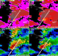 Florida Tornado Map by 2008feb12