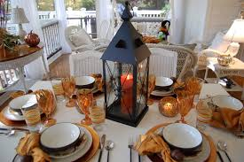 Hobby Lobby Halloween Decor Fall Dining On The Porch Celebrating The Russet Shades Of Autumn