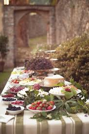 Table Buffet Decorations by Outdoor Buffet Table Decorating Ideas How To Arrange Food Buffet