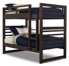 Chadwick TwinTwin Bunk Bed  Espresso The Brick - The brick bunk beds
