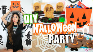 Halloween Decoration Party Ideas Easy Diy Halloween Party Decor U0026 Treat Ideas 2015 Youtube