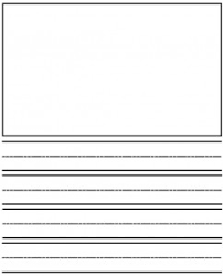 kindergarten writing template language arts resources