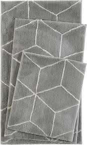 Grey Bathroom Rugs Buy Esprit Flair Grey Bathroom Rug Land Of Bathroom Rugs