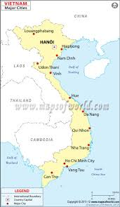Map Vietnam On This Pin You Can See The Capital City Of Vietnam Which Is