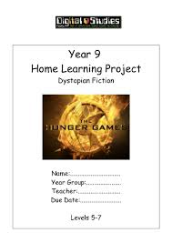 year 9 hunger games home learning project
