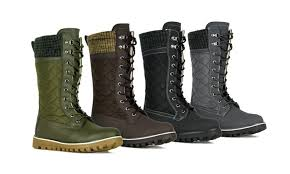 groupon s boots sfd s mid calf water resistant boots groupon