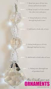 Make Your Own Jewelry Store - how to make your own gorgeous beaded christmas ornaments using