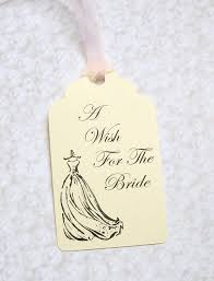 bridal shower wish bridal shower wishing tree tags wedding gown a wish for