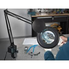 workbench magnifying glass with light top magnifying glass with l decorate ideas photo in magnifying
