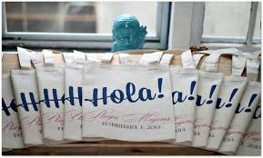 useful wedding favors 20 great wedding favors for destination weddings everafterguide