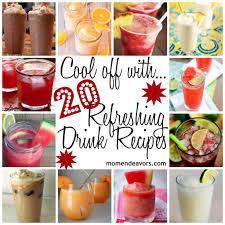 cocktail drinks menu strawberry lemonade slush