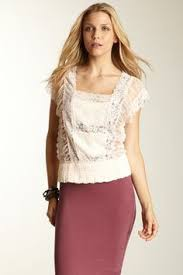 free people pieced lace tunic all that u0027s sheer tulle and