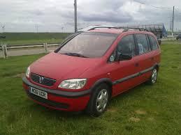 1999 Vauxhall Zafira Overview Cargurus