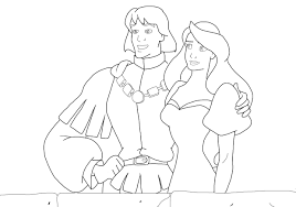 the swan princess coloring pages the swan princess by squirrel