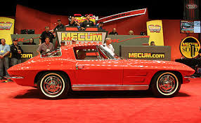 how many 63 split window corvettes were made 1963 corvette split window sells for 275 000 at mecum s