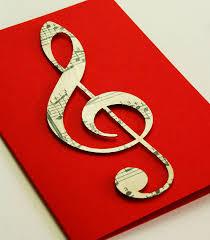 musical cards vintage treble clef card vintage sheet vintage