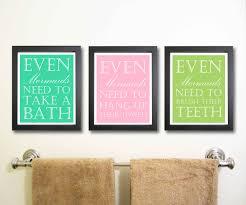 nice bathroom art decor with quotes bathroom art decor ideas for