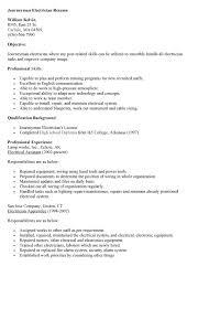 Helper Resume Sample by Download Responsibilities Of An Electrician Haadyaooverbayresort Com