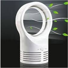 Desk Tower Fan Mini Bladeless Fan Power Supply Tower Fan Energy Saving Fan