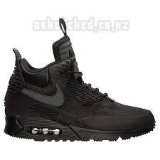s basketball boots nz nz 160 95 s nike hoodland suede boots black