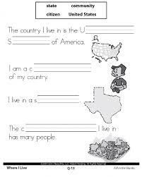 social studies first grade worksheets worksheets
