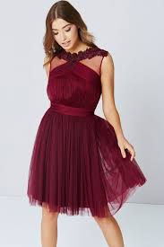 maroon dresses for wedding maroon lace mesh prom dress wedding guest dresses
