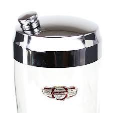 vintage martini shaker vintage cocktail shaker handcut crystal r g sherriff