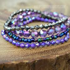 stacking bracelets diy stacked bracelets for beginners happy hour projects