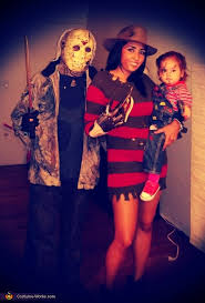 Horror Movies Family Halloween Costume