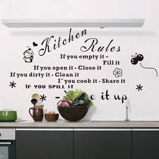 search on aliexpress com by image 2015 amazon explosion models kitchen rule removable wall decal sticker characters stickers wall vinyl decal art vinyl home decor