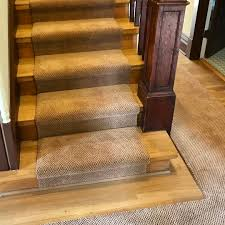 Stair Laminate Flooring Carpeted Stairs Enhance Mcminnville Home U0027s Historic Feel