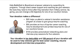 Resume Coaching Free Resume Help For Veterans Give