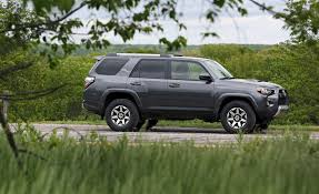 toyota 4runner interior 2017 2018 toyota 4runner in depth model review car and driver