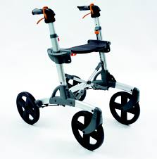 rollator design all terrain rollator walker with seat and 10 inch wheels design