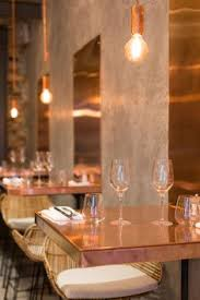 Restaurant Dining Room Design London Restaurant Impresses With Lots Of Copper Beauty