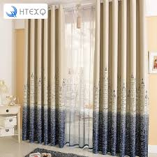 Lighthouse Window Curtains 2016 New Style Mediterranean Lighthouse Curtain Cloth For Bedroom