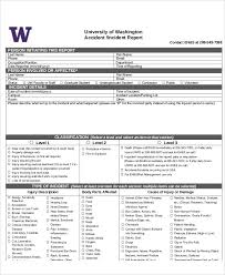 sample accident incident report 6 examples in pdf word