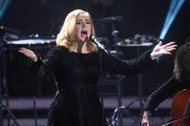 adele shows off new short haircut on british x factor today u0027s