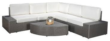 Outdoor Sofa Sectional Set Reddington 6 Piece Outdoor Sectional Set Contemporary Outdoor