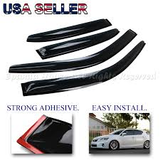 lexus ct200h for sale ebay fit 11 16 lexus ct200h usa window wind deflector rain guard smoked