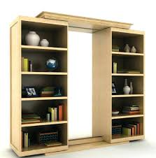 Secret Door Bookcase Bookcase Sliding Bookcase Hidden Door Hardware Make Sliding