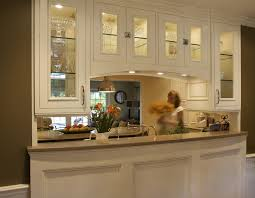 kitchen small design with breakfast bar rustic storage eclectic