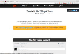 Open Table Widget Tweetable Text Widget For Adobe Muse By Creative Muse Codecanyon