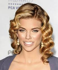 pin curl hairstyle pictures annalynne mccord pin curls